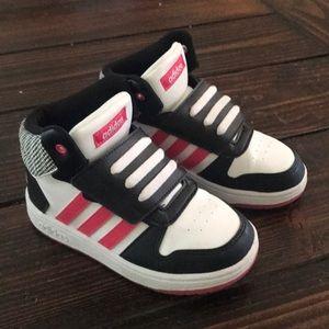 ADIDAS Kids' Neo Hoops High Top Sneaker Toddler